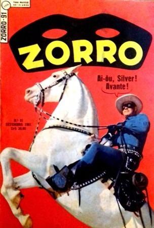 Zorro 91 (ebal-1a Série-1961) Clayton Moore