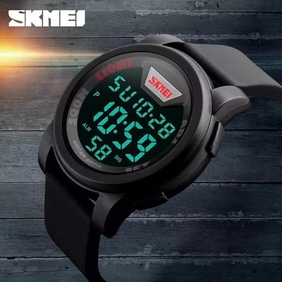 Relógio Masculino Digital Led Original Skmei Prova D´água