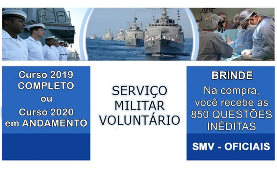 Rm2 - Smv Oficial Voluntário Marinha 2019/2020 (estr)