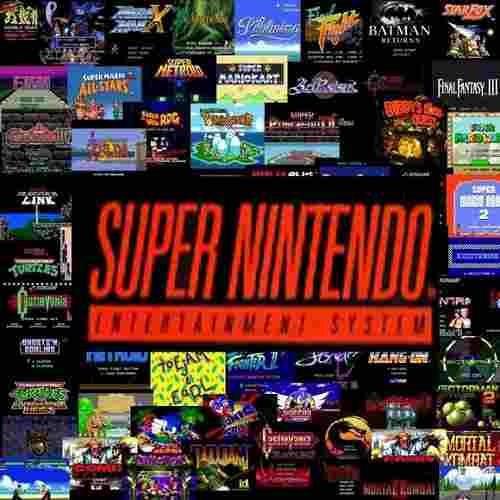 Mais De 900 Jogos De Super Nintendo!!!