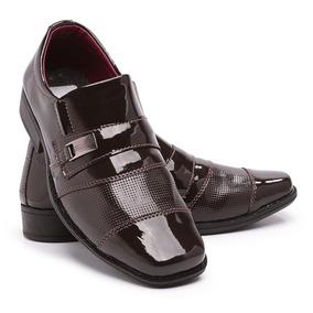 20464c925f Mocassim Infantil Menino - Sapatos Sociais Meninos Marrom no Mercado ...