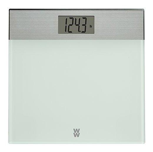 Ww Scale By Conair Bã¡scula De Baã±o De Vidrio Pintado D