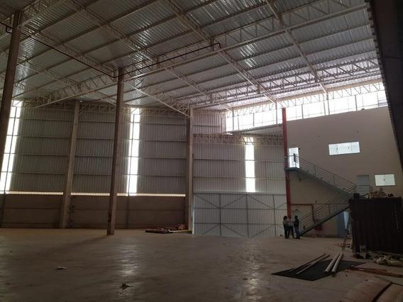 Galpão Industrial Para Locação, Jardim São Pedro, Hortolândia. - Ga0706