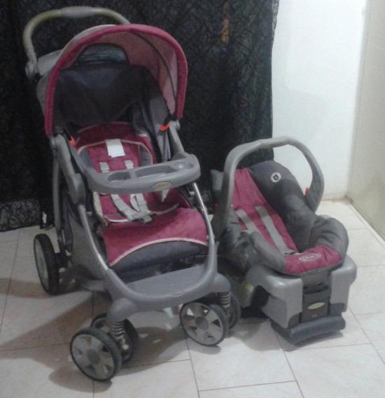 Coche Y Porta Bebé Marca Graco