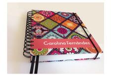 Impresión Agendas Cuadernos Carpeta Personalizadas Tapa Dura