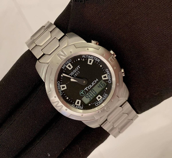Tissot T-touch , Todo Aço , 42mm , Top!