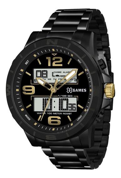 Relógio Xgames Xmnsa001 P2px Masculino Preto - Refinado