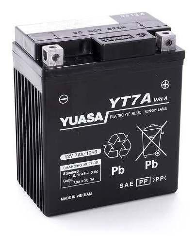 Bateria Yuasa Yt7a=ytx7l-bs Honda Tornado Yuasa 107102