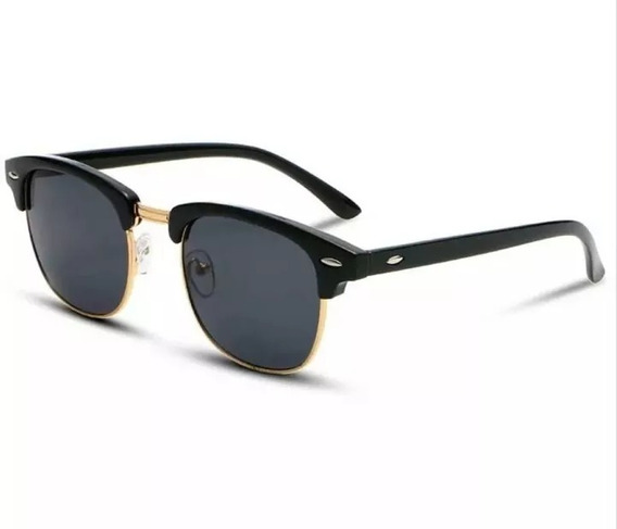 Óculos De Sol Feminino Masculino Clubermast Clássico Quadrad