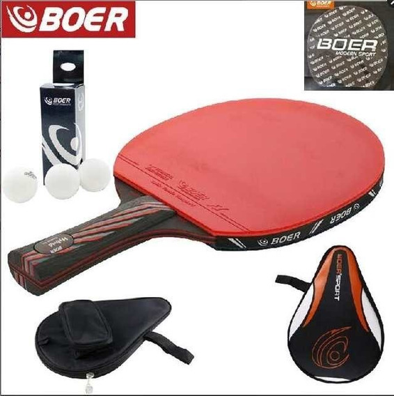 Raquete Clássica Kit Completo Profissional Marca Boer+brinde