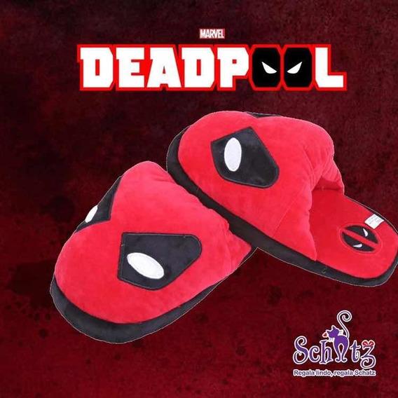 Pantuflas Deadpool Marvel Cómics