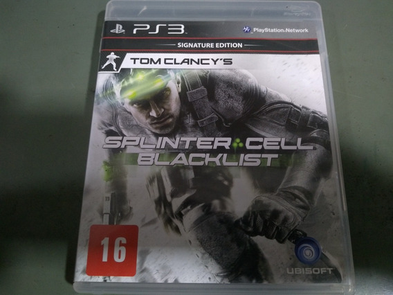 Jogo Seminovo Splinter Cell Blacklist Ps3 Pronta Entrega!!!!