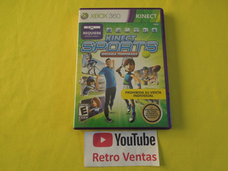 Kinect Sports Segunda Temporada Xbox 360 * 1-4 Players *