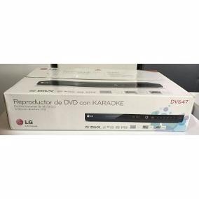 Dvd Lg 647 + Combo De 300 Películas (copias)