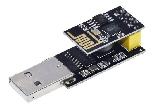 Esp-01 Wifi Esp8266 + Adaptador Usb Serial Ch340g Arduino