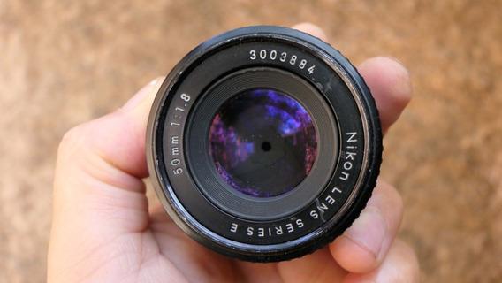 Nikon 50mm F 1.8 Series E