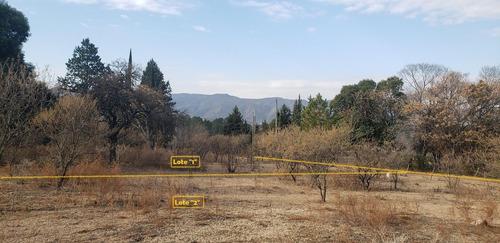 Imagen 1 de 17 de Venta De Terreno En Santa Rosa De Calamuchita