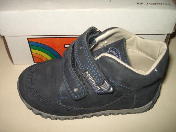 Zapatos Tipo Botines Para Niño #23 Pocholin