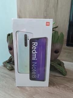Redmi Note 8 Pro 6gb 128. Zero LacradoBranco