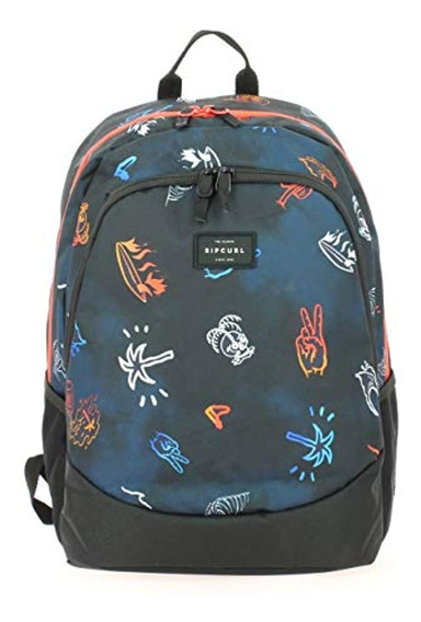 Rip Curl Proschool Tropicana Backpack In Navy