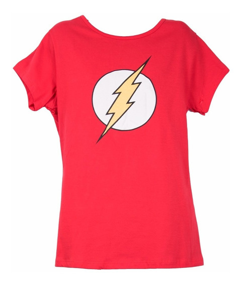 Remera, Dc, Flash Logo, Hombre/mujer