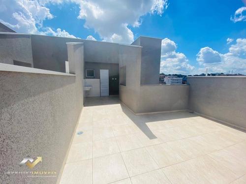 Cobertura Com 2 Dormitórios À Venda, 105 M² Por R$ 280.000,00 - Parque João Ramalho - Santo André/sp - Co0898