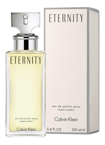 Calvin Klein Eternity Mujer 100ml Edp Silk Perfumes Original