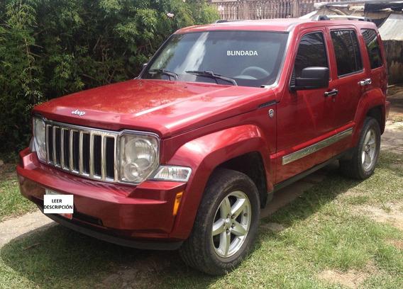 Cherokee Kk Blindada Sin Motor Y Caja