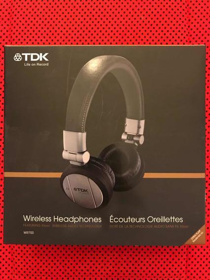 Headphones Wireless Tdk Wr700