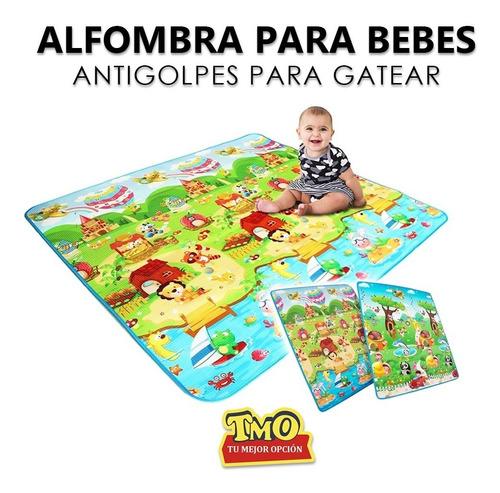Imagen 1 de 8 de  Alfombra Antigolpes Para Bebes Niños Medida 1.00 X 1.80 Cm