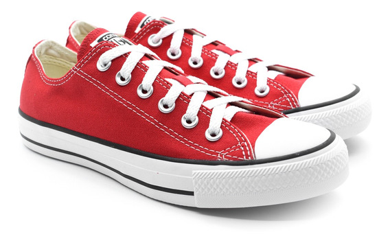 Tênis Converse Allstar Ct00010004 Vermelho/cru/preto