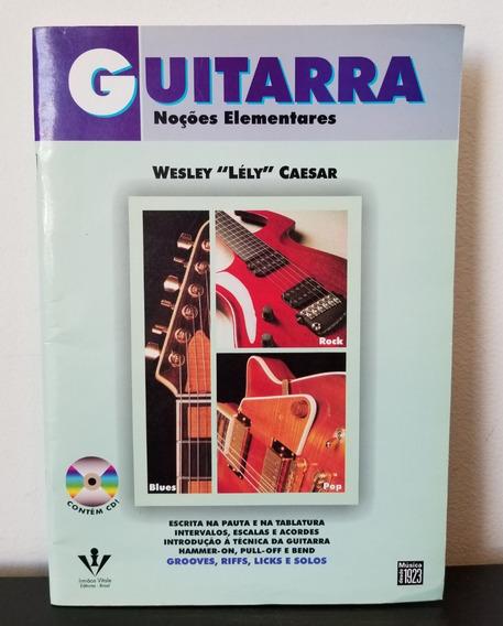 Revista Guitarra Noções Elementares + Cd Room - Frete 10,00