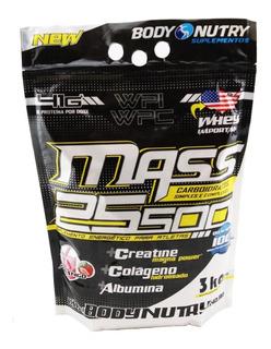 Mass 25500 Refil 3kg Body Nutry - Pronta Entrega !