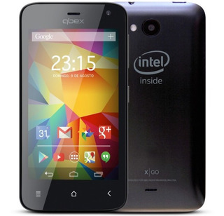 Lote 50 Smartphone Qbex Xgo Preto Hs011 4gb Dual Lacrado