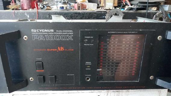 Amplificador Cygnus Pa1800x
