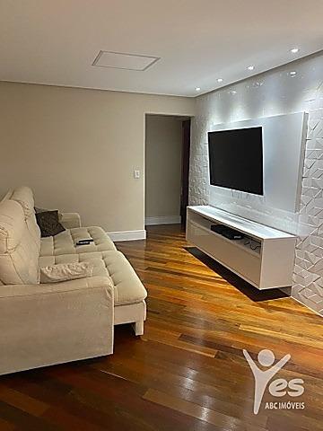 Imagem 1 de 12 de Ref.: 3317 - Apartamento Com Condomínio, 3 Dormitórios Sendo 3 Suítes, 2 Vagas, Bairro Campestre , Santo André, Sp - 3317