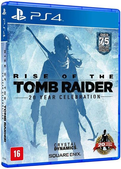 Rise Of The Tomb Raider Ps4 Mídia Física Seminovo