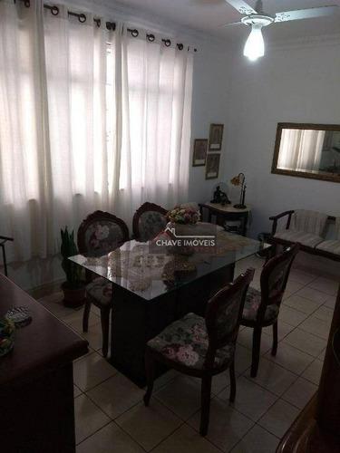 Imagem 1 de 12 de Apartamento À Venda, 70 M² Por R$ 371.000,00 - Gonzaga - Santos/sp - Ap2639