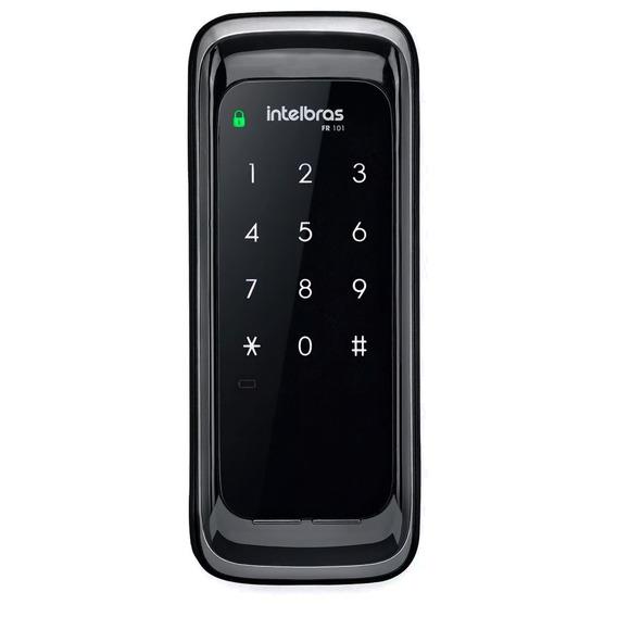 Fechadura Eletrônica Digital Fr 101 Intelbras Touch Screen