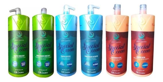 Kit Special Ocean World Nature Vloss - 6 Produtos