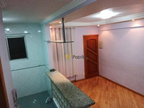 Apartamento À Venda, 50 M² Por R$ 250.000,00 - Parque Espacial - São Bernardo Do Campo/sp - Ap2820