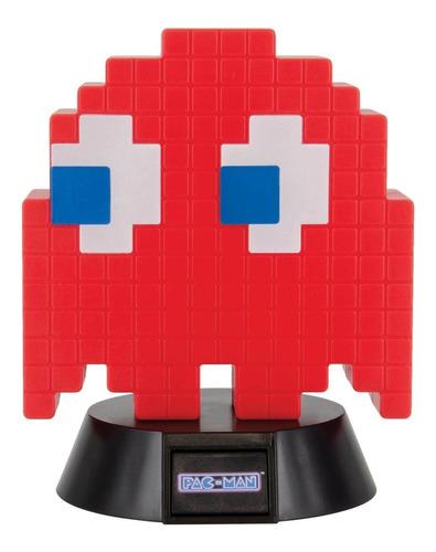 Lámpara Fantasma Rojo Pacman