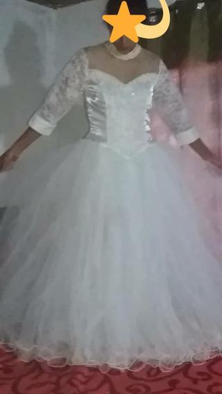 Vestido De Novia Corte Princesa 50$