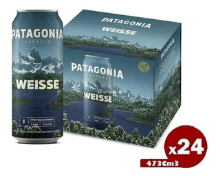 Cerveza Lata Patagonia Weiss X473cc Pack X24