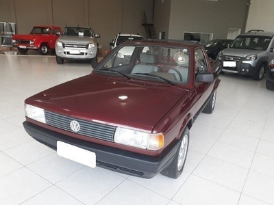Volkswagen Saveiro Cl 1.8 Mi Vermelha 8v Gasolina 2p 1997