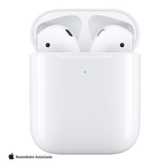 Fone De Ouvido Sem Fio Apple AirPods - Branco - Mrxj2be/a