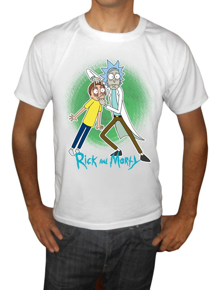 Remeras Modal Hombre Rick And Morty