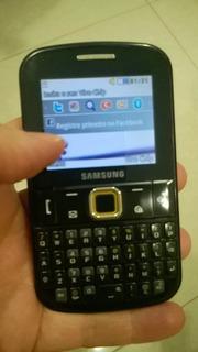 Celular Samsung Ch@t 222 Gt-e2220 Pouco Uso C/garantia