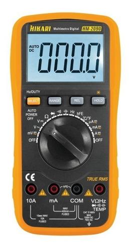 Multimetro Digital Cat Iv 600 V Hikari Hm-2090 True Rms