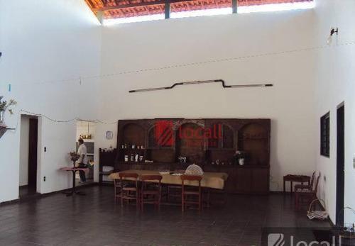 Imagem 1 de 19 de Casa Residencial Para Locação, Jardim Alto Rio Preto, São José Do Rio Preto. - Ca0051